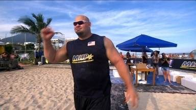 Brian Shaw é o grande vencedor do 'Força Bruta' - Americano supera adversários e ganha evento realizado no Rio de Janeiro