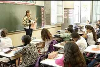 Alunos da Rede Municipal e Estadual de ensino voltam às aulas em Montes Claros - As salas estavam cheias na manhã desta segunda-feira (03).