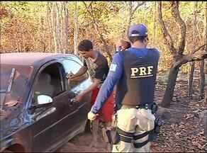 Motorista embriagado fura bloqueio da PRF e sofre acidente durante fuga na região norte - Motorista embriagado fura bloqueio da PRF e sofre acidente durante fuga na região norte
