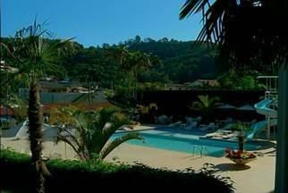 Fevest movimenta rede hoteleira de Nova Friburgo, no RJ - Por causa da feira, a ocupação dos hotéis na cidade continuou alta.