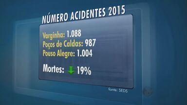 Número de acidentes de trânsito cai cerca de 7% no primeiro semestre de 2015 - Número de acidentes de trânsito cai cerca de 7% no primeiro semestre de 2015