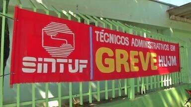 Funcionários do Hospital Júlio Müller em Cuiabá entram em greve - Funcionários do Hospital Júlio Müller em Cuiabá entram em greve