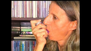Conheça a luta de pessoas que tem asma - As mudanças bruscas de temperatura e o uso prolongado do ar-condicionado são alguns dos grandes inimigos de quem tem asma.