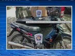 Quadrilha especializada em roubo de motos é desarticulada em Bezerros - Na ação, cinco homens foram presos e quatro adolescentes apreendidos.
