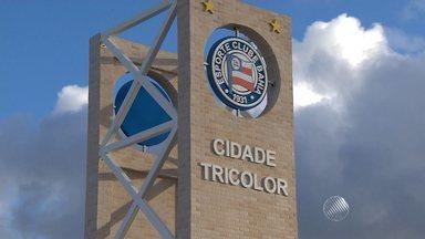Saiba como está o Centro de Treinamento do Bahia em Dias D'Ávila - Apesar de ter sido inaugurado em 2013, o equipamento nunca foi usado.