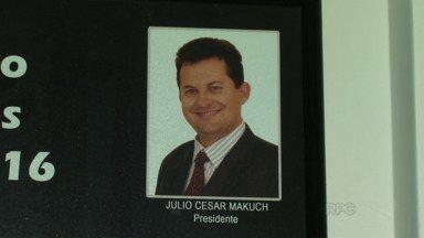 Julio Makuch, vereador de Prudentópolis, pode voltar a atuar como parlamentar - Julio Makuchi foi afastado do cargo por ser um dos investigados pelo Gaeco na Operação Caçamba, por suspeita de participar de casos de desvio de dinheiro público.