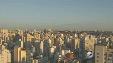Confira a previsão do tempo para os próximos dias na região de Campinas - O dia começou com céu claro e sem previsão de chuva.