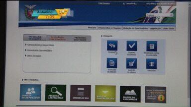 Alep anuncia mudanças no Portal da Transparência - Segundo a assembléia, agora, ficou mais fácil consultar o andamento dos projetos e pesquisar os gastos dos deputados.