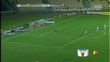 Bragantino perde para o Sampaio Corrêa em São Luís - Com derrota por 2 a 0, Braga fica estacionado no meio da tabela.