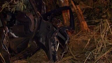 Homem morre e mulher fica gravemente ferida em acidente na BR-262 - O acidente aconteceu no fim da tarde desta terça-feira (4) próximo de Terenos (MS)