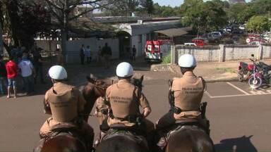 Mais casos de H1N1 são registrados no cadeião de Cascavel - Os quatro novos casos foram confirmados entre os servidores da carceragem.