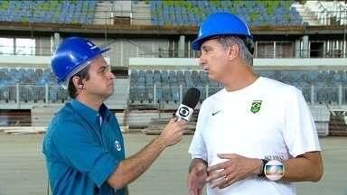 Marcos Vinícius Freire fala sobre meta de medalhas para os Jogos de 2016 - Diretor executivo de esportes do COB espera que o Brasil fique entre os dez primeiros no quadro de medalhas.