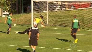 Com melhor ataque do Brasileiro, Atlético-MG tem caprichado nos treinos de finalizações - Outro ponto positivo é o revezamento entre os atacantes na hora de marcar