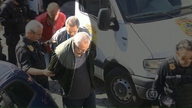 PF começa a ouvir presos da 17ª fase da Lava Jato - O depoimento do ex-ministro José Dirceu deve acontecer só na próxima semana, porque a prisão dele é por tempo indeterminado. Os investigadores estão ouvindo primeiro os presos temporariamente.
