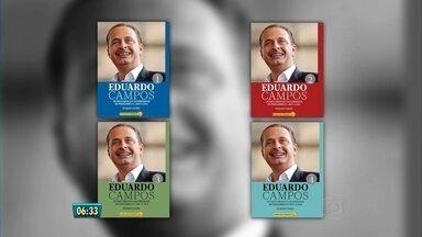 Coleção de livros em homenagem ao ex-governador Eduardo Campos é lançada no Recife - Ao todo são quinhentos e sessenta pronunciamentos distribuídos em oito livros.