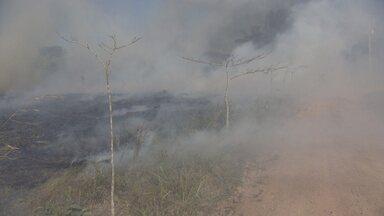 Fumaça de queimadas causa acidentes nas rodovias de RO - PRF alerta para os cuidados que os motoristas devem tomar para evitar acidentes