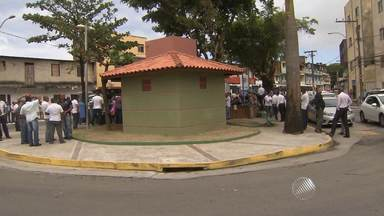 'Módulo conforto' para motoristas de ônibus é inaugurado, em Salvador - A primeiro unidade foi inaugurada no Marback.