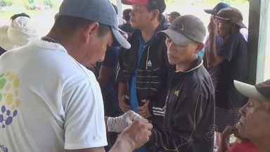 Médicos voluntários atendem índios yanomamis no AM - Atividade foi realizada na fronteira com a Venezuela, em são Gabriel da Cachoeira.