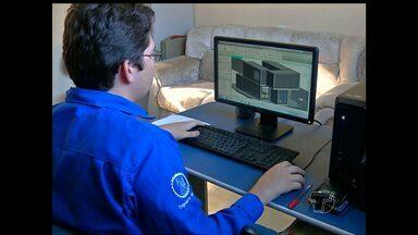 Técnico em edificações é uma das profissões que mais crescem em Santarém - Salário inicial é por volta de R$ 1.400.