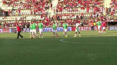 Emocionado, Zé Carlos dedica gol contra o Náutico - Artilheiro homenageou o pai na vitória do CRB.