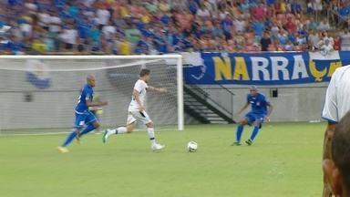 Nacional-AM perde para Remo na Arena da Amazônia - Mais de 11 mil pessoas foram até o estádio para acompanhar a partida.