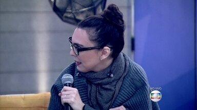O que te deixa de mau humor? Confira respostas dos convidados - Adriana Calcanhoto solta: 'Quando vejo as pessoas jogando lixo no chão'