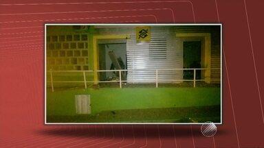 Bandidos invadem banco em Palmas do Monte Alto, no centro-sul do estado - Segundo a polícia, 10 homens participaram da ação.