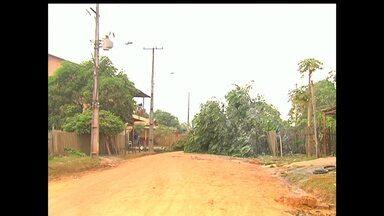 Poeira preocupa moradores dos bairros Jutaí e Maracanã em Santarém - Problema surgiu após serviços der terraplanagem em vias dos bairros