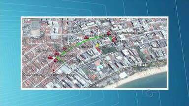 SMTT faz mudança no trânsito da Pajuçara devido obra da Casal - Agentes do órgão estão no local para orientar os condutores.