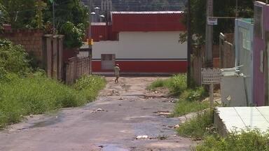 Moradores de loteamento em Manaus cobram saneamento - Caso ocorreu no Rio Piorini, Zona Norte da cidade.