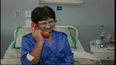 Grupo Despertando Risos leva alegria a pacientes em Uruguaiana, RS - Palhaços levam diversão para crianças e adultos internados.