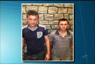 Duas pessoas foram presas suspeitas de asaltar uma lotérica em Icó - bandidos roubaram a agência e pertences dos clientes.