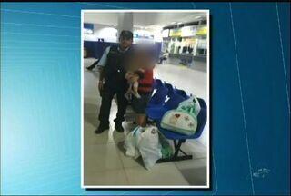 No Ceará, mãe e filho são libertados após quase um ano de cárcere - Mulher era mantida trancada pelo marido. Eles têm um filho de 11 meses.