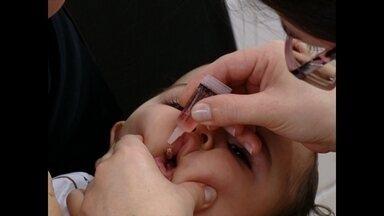 Começa campanha de vacinação contra poliomelite, a paralisia infantil - Crianças de seis meses a cinco anos devem ser vacinadas.
