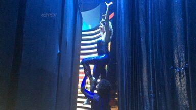 Uau! Mariana Santos faz pegada no backstage do 'Domingão' - Confira imagens da atriz nos bastidores do Dança dos Famosos