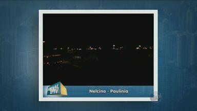 Moradores denunciam falta de iluminação em avenida de Paulínia - Um telespectador pediu providências por meio do aplicativo do Jornal da EPTV.
