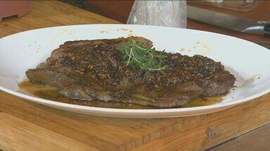 No 'Prato Feito', Kassab ensina receita de molho para carne - Nessa semana, as receitas são em homenagem à Festa do Peão de Barretos.