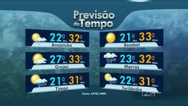 Veja como fica o tempo nesta quarta-feira (19), no Maranhão - E o tempo continua seco em todo o estado, favorecendo a ocorrência de queimadas. Veja a previsão da meteorologia.