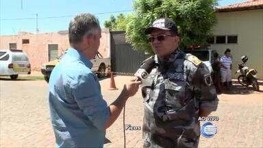 Repórter Renan Nunes dá detalhes de crime em Alegrete do Piauí - Repórter Renan Nunes dá detalhes de crime em Alegrete do Piauí