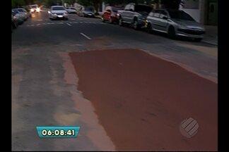 Buracos e remendos nas vias causam transtornos a motoristas, em Belém - Buracos e remendos nas vias causam transtornos a motoristas, em Belém