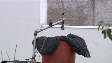 Esquadrão antibomba é acionado em São Leopoldo (RS) - Uma banana de dinamite foi deixada por quatro homens que tentaram explodir um caixa eletrônico de uma agência bancária, em São Leopoldo.