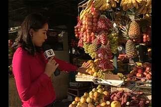 Alimentos orgânicos são opção saudável na feira - Alimentos orgânicos são opção saudável na feira