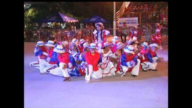 41º Festival Folclórico começa em Santarém - Nove grupos se apresentaram nesta quarta-feira (19).