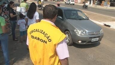 Idaron faz campanha da Semana do Campo Limpo, em Ariquemes - População está sendo alertada para a importância de descartar de forma correta as embalagens de agrotóxicos
