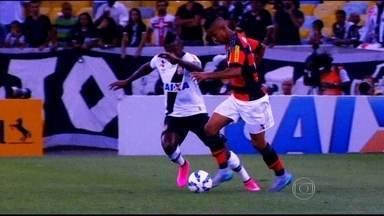 Copa do Brasil de clássicos resulta em vitória do Vasco e Santos - Jorge Henrique dá vitória aos cruzmaltinos e Peixe vence em casa.