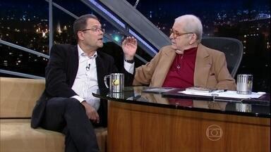 Jô Soares entrevista Sidney Rezende - O jornalista fala de seu novo livro 'Ah se eu fosse presidente'