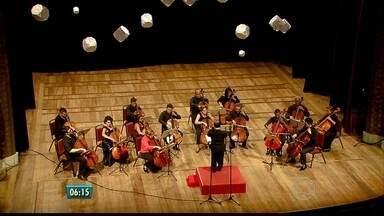 Mariza Johnson comemora 80 anos fazendo concerto de violoncelo com ex-alunos e amigos - Apresentação gratuita aconteceu no Teatro Santa Isabel.