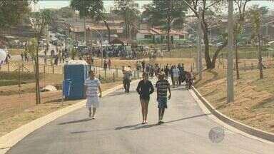 Parque para moradores é inaugurado na região do Ouro Verde - O Parque Dom Bosco é a nova área de lazer prometida pela administração municipal para os moradores do distrito de Campinas.