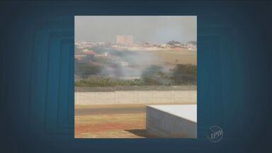 Confira a previsão do tempo para os próximos dias na região de Campinas - Pode chover nesta segunda-feira. Bairros foram atingidos por queimadas.