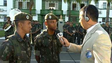 Comemorações pelo Dia do Soldado já começaram em Salvador; veja a programação - A data é comemorada nessa terça (25).